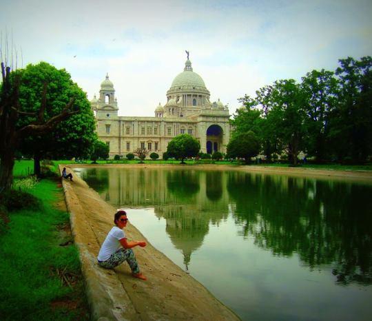 Victoria Memorial, Calcutta, India